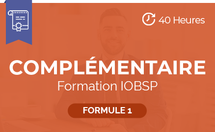 complementaire formation iobsp formule 1