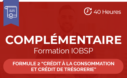 complementaire formation iobsp formule 2 credit consommation