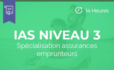 formation ias niveau3 specialisation assurances emprunteurs