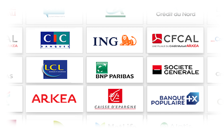 Banques partenaires cyberpret