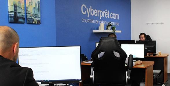 bureau entree cyberpret